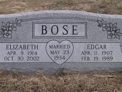 Mary Elizabeth <i>Twombley</i> Bose