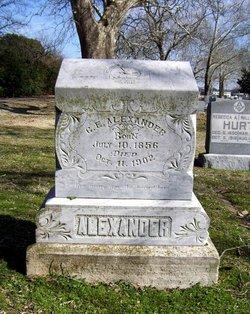 C. E. Alexander