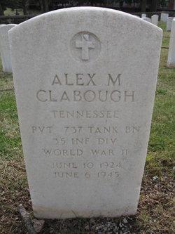 Alex M Clabough