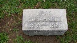 William Moss Alexander