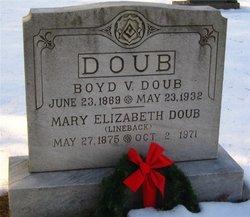 Mary Elizabeth <i>Lineback</i> Doub