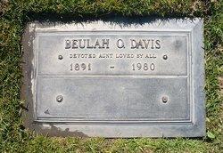 Beulah O <i>Walton</i> Davis