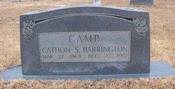 Catherine Sophronia Cathon <i>Barrington</i> Camp
