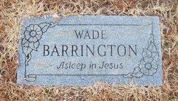 Washington Wade Barrington