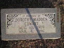 Dorothy <i>Madden</i> Cowart