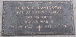 Louis Eudell Davidson