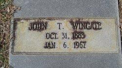 John T Wingate