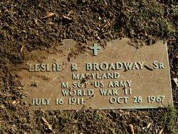 Leslie R. Broadway, Sr