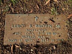Leroy R. Brown, Sr