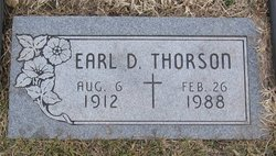 Earl D Thorson