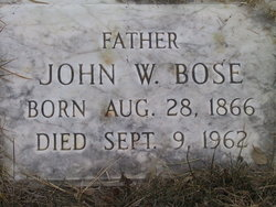John William Bose