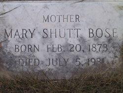 Mary <i>Shutt</i> Bose