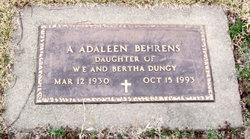 Alice Adaleen <i>Dungy</i> Behrens