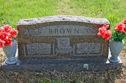 Mary E. Mollie <i>Snoderly</i> Brown