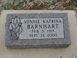 Vonnie Katrina Kay <i>Gentry</i> Barnhart