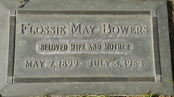 Flossie May <i>Phillips</i> Bowers