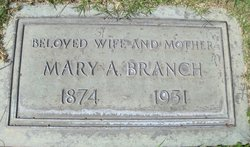 Mary Alice <i>Parker</i> Branch