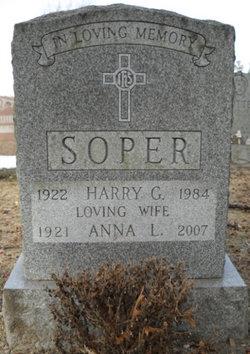 Anna Louise <i>Dornlas</i> Soper
