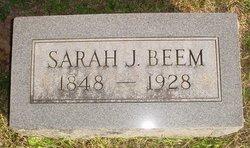 Sarah J <i>Huffman</i> Beem