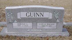 Rev Harold Lee Guinn