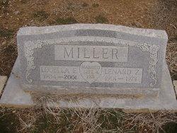 Louella Elizabeth <i>Oliver</i> Miller