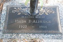 Hilda <i>Foltz</i> Aldridge