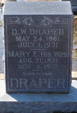 Mary Elizabeth <i>Smoot</i> Draper