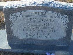 Ruby <i>Coats</i> Bullock