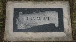Lena M. <i>Reid</i> Ball
