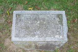 Minnie Louise <i>Huxley</i> Cook