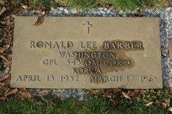 Ronald Lee Barber