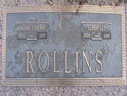 Adaline Jewel <i>Bauman</i> Rollins