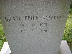 Grace <i>Pfile</i> Bowles