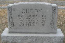 Martha E. <i>Herring</i> Cuddy