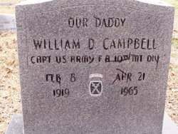 William Dean Bill Campbell