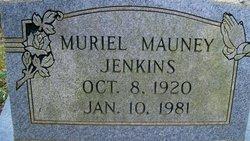 Muriel <i>Mauney</i> Jenkins