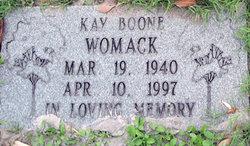 Kay E <i>Boone</i> Womack