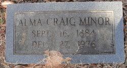 Alma Craig Minor