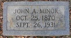 John A. Minor