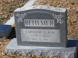 Caroline C.A.M. Behlmer