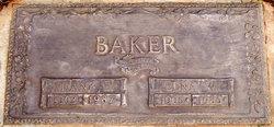 Mrs Edna Wilhelmina <i>Kircher</i> Baker