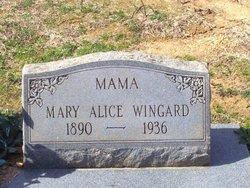 Mary Alice <i>Stone</i> Wingard
