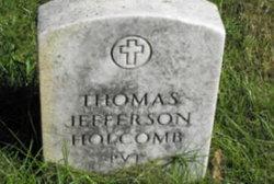 Pvt Thomas Jefferson Holcomb