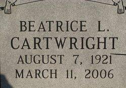 Beatrice Louise <i>Eakins</i> Cartwright