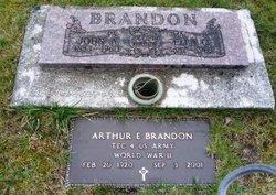 Elfreda Caroline Ella <i>Carlson</i> Brandon