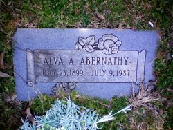 Alva Alphonse Abernathy
