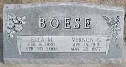Vernon Glenn Boese