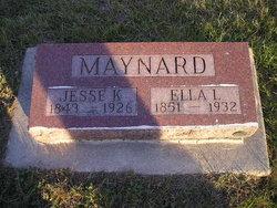 Ella Lydia <i>Lewis</i> Maynard