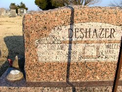 Sarah Adeline <i>Bradshaw</i> DeShazer