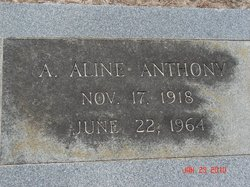 A. Aline Anthony